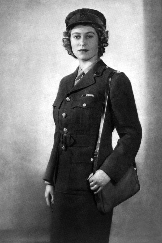 Princess Elizabeth in her uniform