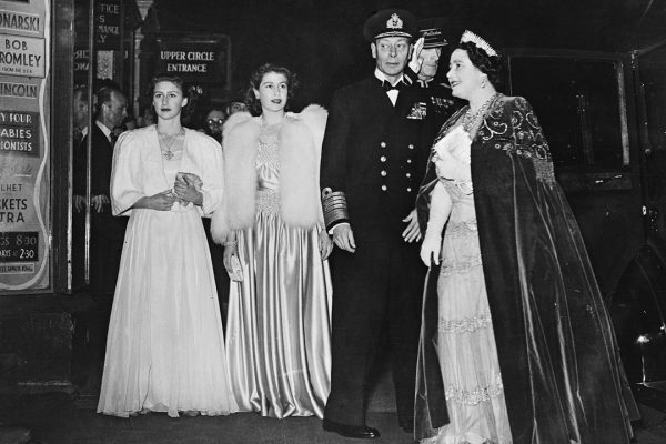 Princess Elizabeth for the Royal Variety Show 1946 at the London Palladium