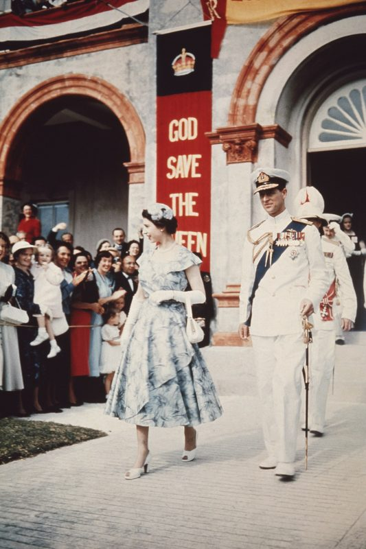Queen Elizabeth was picture-perfect for this 1953 Bermuda visit