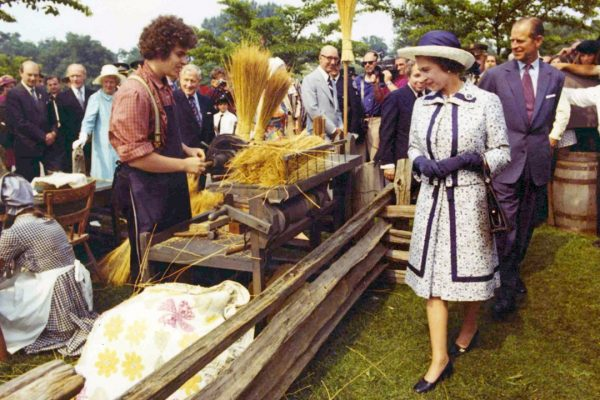 queen and prince philip 1973