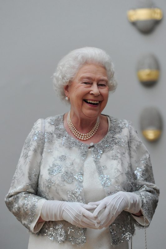 2012 RA london the queen