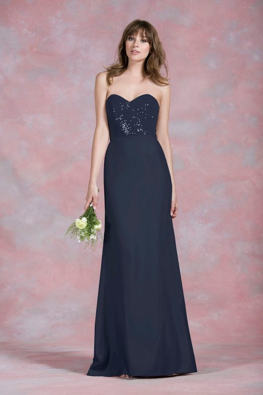 Kelsey Rose bridesmaid dress 50170 blue