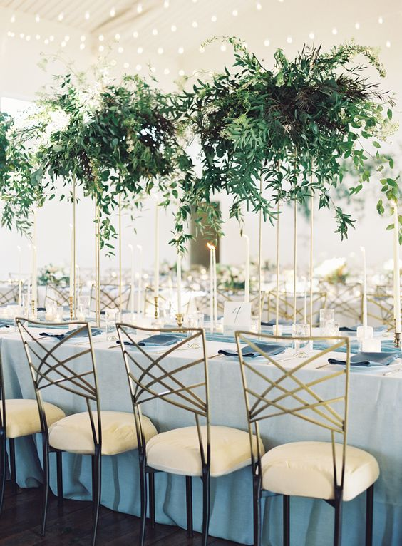 art deco wedding reception style