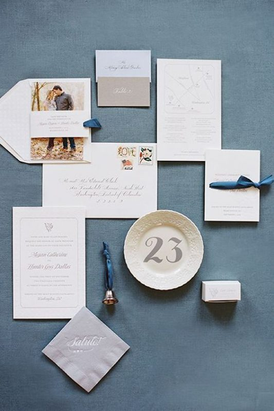 navy blue wedding ideas