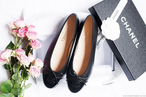 chanel ballet pumps